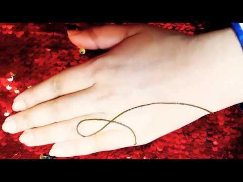 Cute and simple mehndi design tutorial thumbnail
