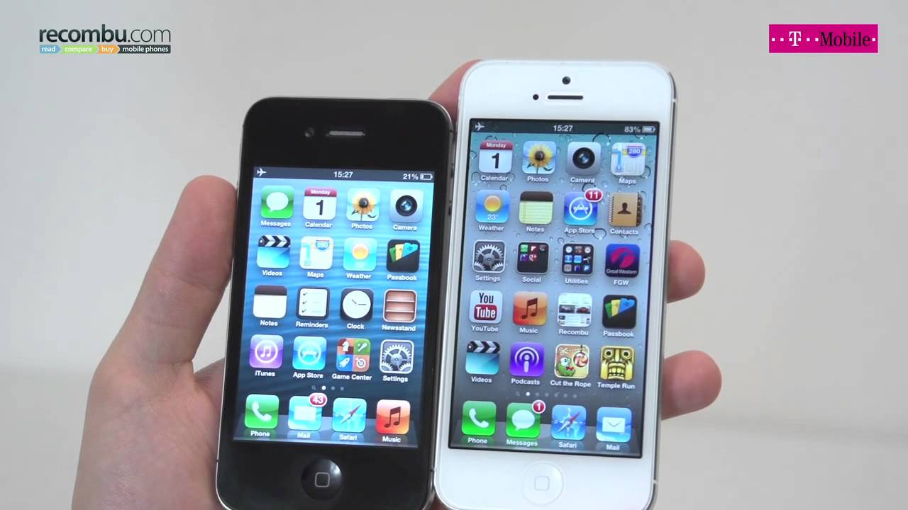 what is the difference between iphone 5s and 5c apple iphone 4s vs iphone 5 21457