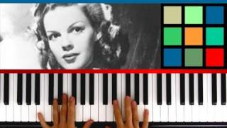 "How To Play ""Have Yourself A Merry Little Christmas"" Piano Tutorial / Sheet Music (Judy Garland)"