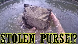 Found Stolen Purse in the River!? Georgia River Treasure!!
