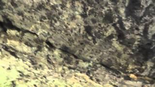 Grotta di San Bonaventura (Bagnoregio, VT): discontinuità nel tufo