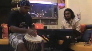 Chookar Mere Mann Ko (Keyboard & Djembe) By IMMORTAL HARMONY