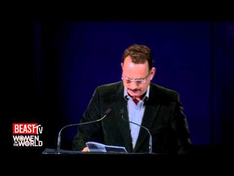 Tom Hanks Chokes Up For Nora Ephron