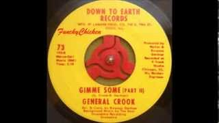 General Crook   Gimme some