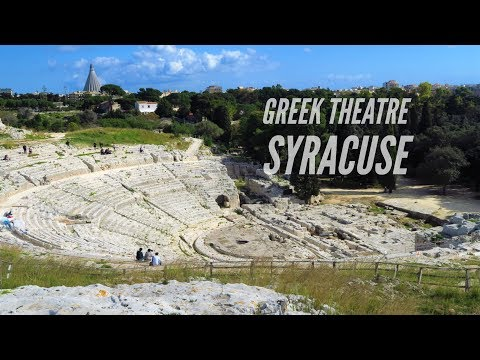 Syracuse GREEK THEATRE / Sicily, Italy