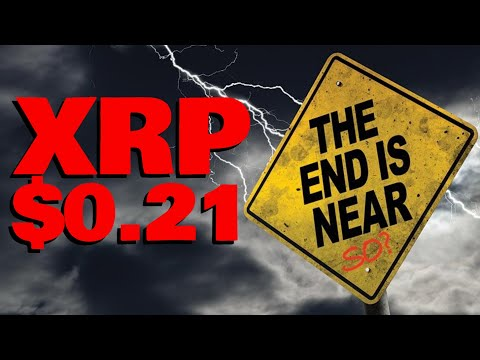 XRP: THE END IS NEAR (Kidding... sort of) | MASSIVE Price Drop Due To SEC FUD & Altcoin Market Cycle