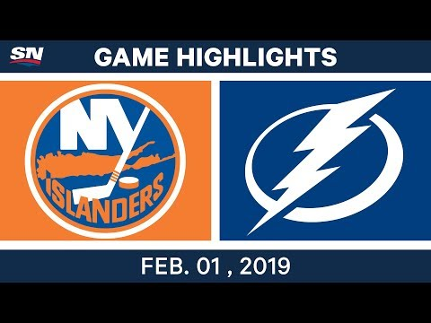 NHL Highlights | Lightning vs. Islanders - Feb. 1, 2019