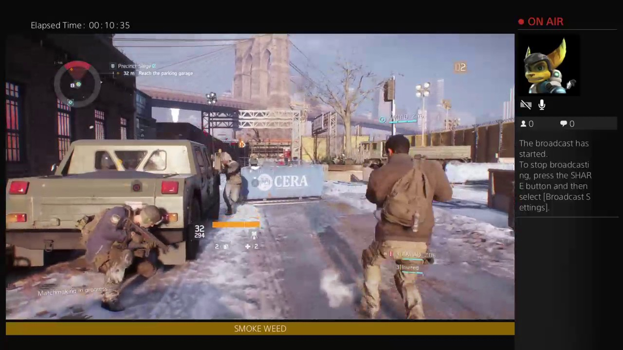 Tom Clancys the division 1st stream - YouTube