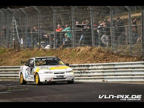 VLN 1 2016 | Opel Calibra Rollout und Test für die 24h Nürburgring