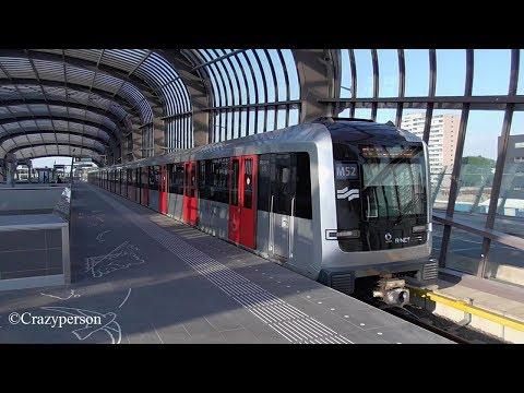 Metro 52 Noord Zuidlijn Amsterdam Noord - Zuid