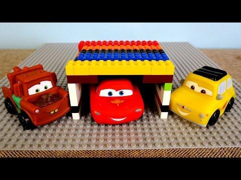 McQueen Lego'dan garaj çatısı...