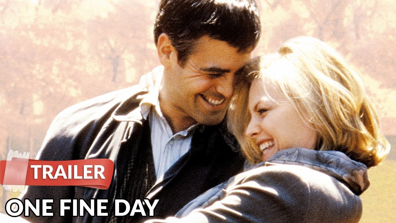 Download One Fine Day 1996 Trailer HD   Michelle Pfeiffer   George Clooney
