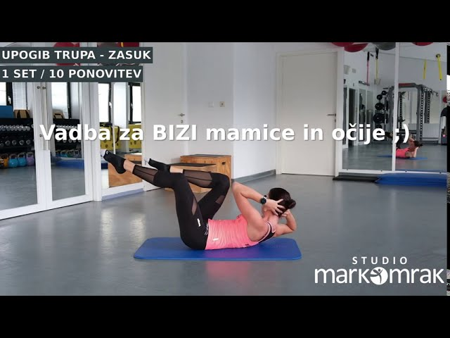 ON LINE treningi za BIZI mamice in očije ;)
