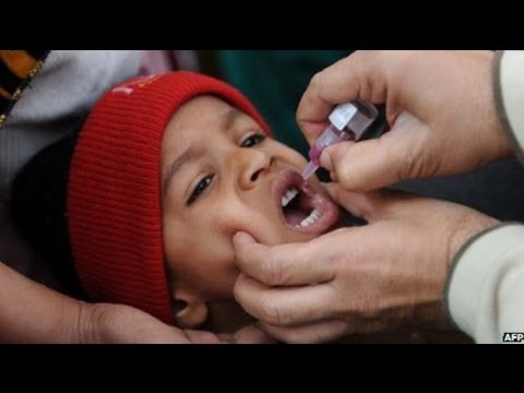 PAKISTAN'S ONGOING BATTLE WITH POLIO - BBC NEWS