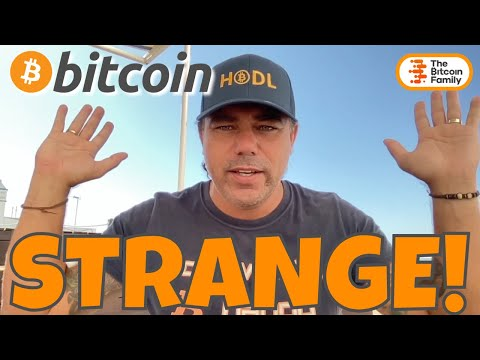 STRANGE DUMP!!! BITCOIN, WHAT IS HAPPENING AT THE MOMENT? NO FINANCIAL ADVISE BUT THIS COULD BE IT..