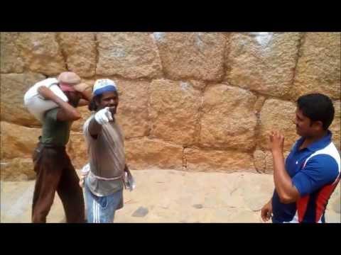 Koti Raj (Jyoti Raju) wall climbing