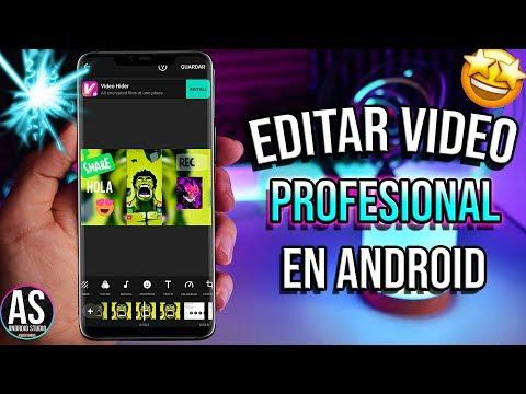 Cómo editar VIDEOS en tu celular ANDROID 2019 🥇Mejor APP para editar videos