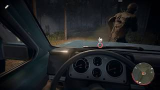 Friday The 13th The Game - Car Win +  Sprint Glitch