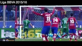 Atletico de Madrid 3 - 1 Eibar, Goles y Resumen, Liga BBVA 2016