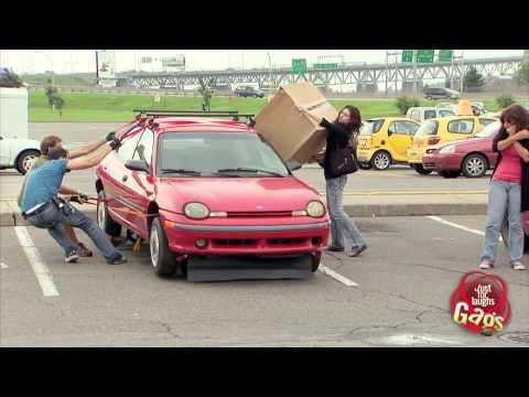 Drifting Car Gag
