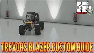 "GTA 5 I Am Not A Hipster DLC Trevors Blazer Customization Guide! ""GTA 5 DLC"" Hipster Update 1.14!"