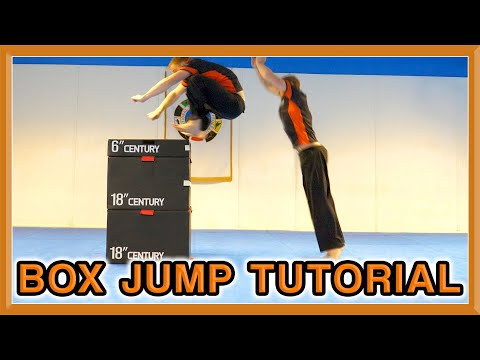 Plyometric Box Jump Tutorial   Increase You Vertical Jump   GNT How to
