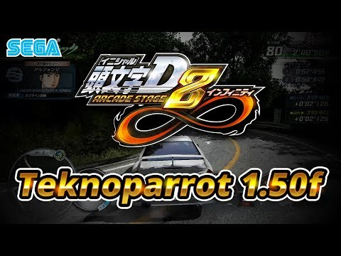 Initial D Arcade Stage 8 Infinity - Teknoparrot 1 50f - 60FPS 1080p