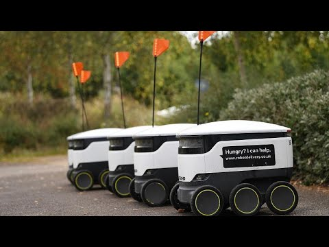 شاهد: روبوتات التوصيل تغزو الشوارع البريطانية  - نشر قبل 3 ساعة