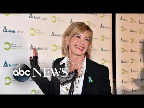 Olivia Newton-John reveals she used marijuana to ease cancer pains Mp3