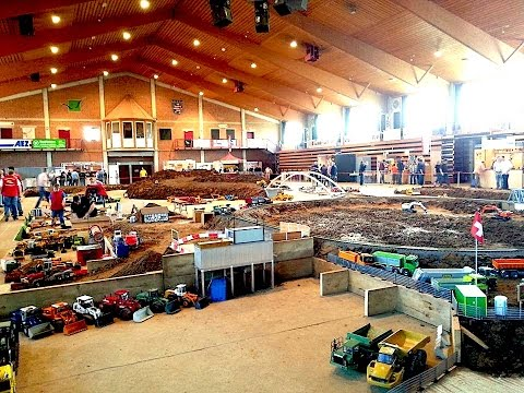 Best of Biggest RC Construction Site in the World: Alsfeld 2015, Germany