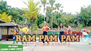 Ram Pam Pam Natti Natasha Ft Becky G Rulya Masrah Zumba Dance Workout Choreography