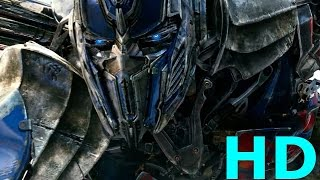 Optimus Prime vs. Galvatron & Lockdown - Transformers Age Of Extinction Movie Clip Blu-ray HD