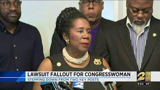 Lawsuit fallout for congresswoman