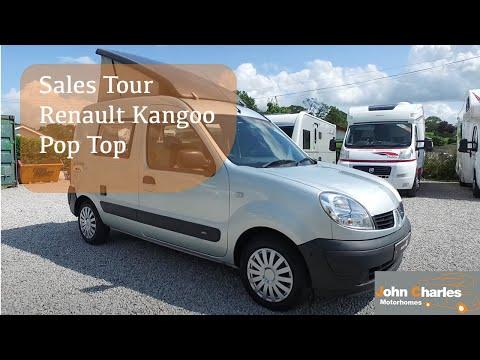 Renault Kangoo Pop Top Microcamper
