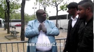 LES COMBATTANTS ENLEVE UN JOURNALISTE CONGOLAIS A PARIS 21 05 2014