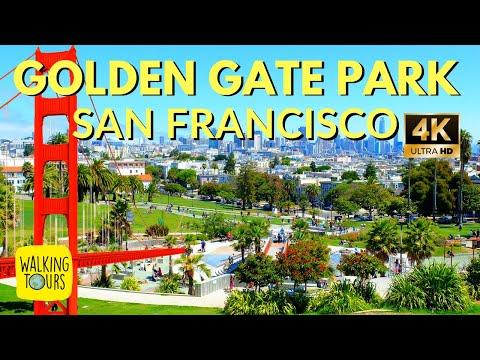 Golden Gate Park   San Francisco   4K Walking Tour