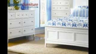 Magnussen Furniture Kentwood 4-piece Panel Bedroom Set In White Finish