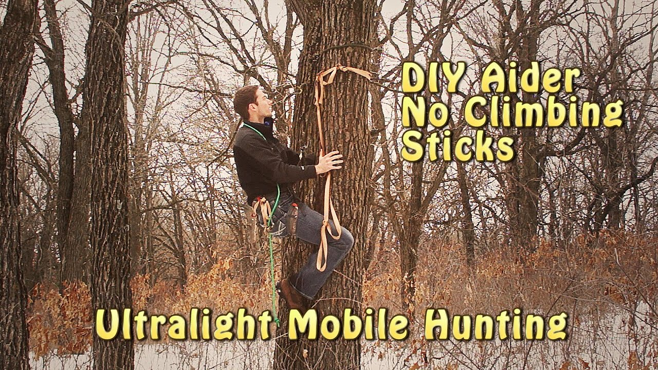 How To Climb A Tree Without Climbing Sticks Youtube