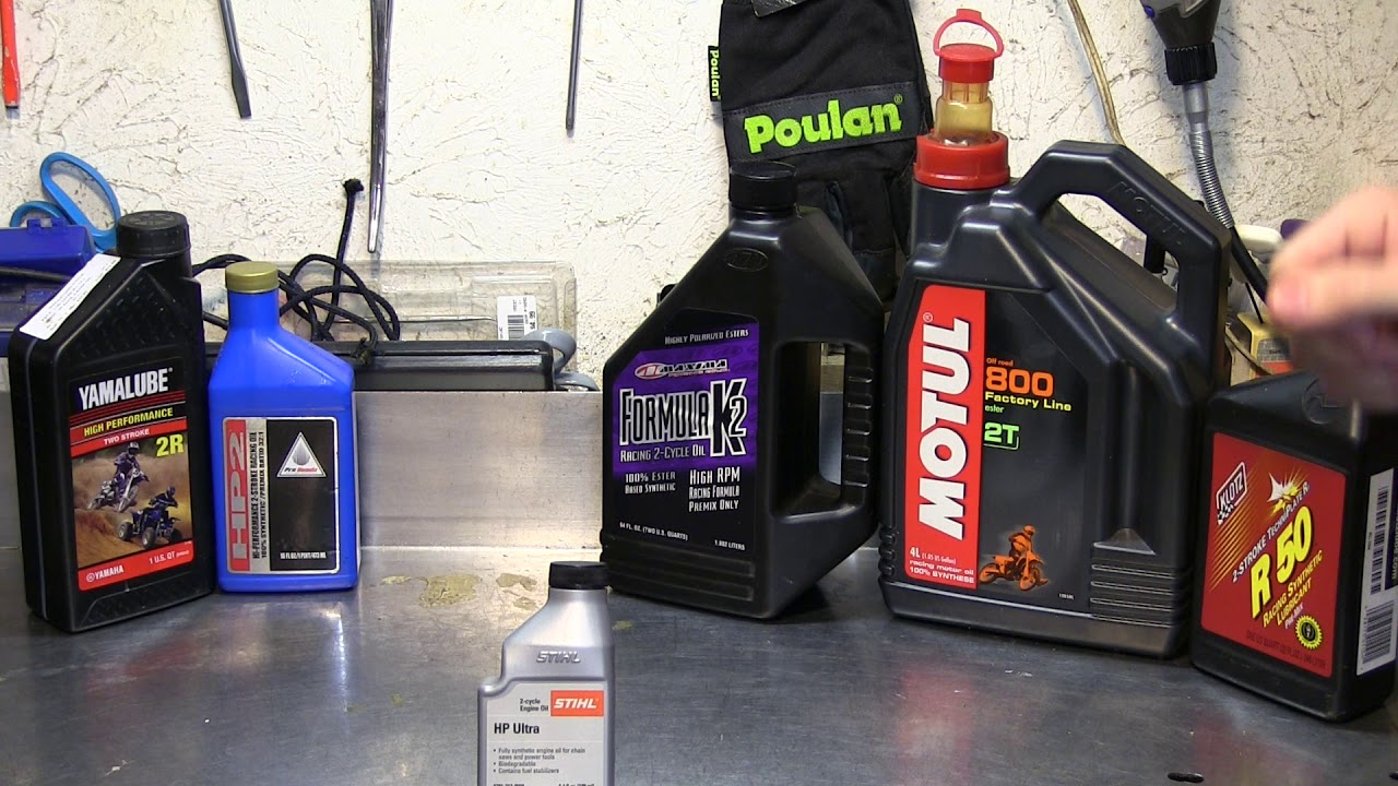 Best 2 cycle oil for use in a chainsaw, and what oil I recommend
