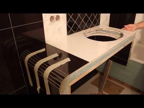 видео: Укладка плитки на короб 3d ванны