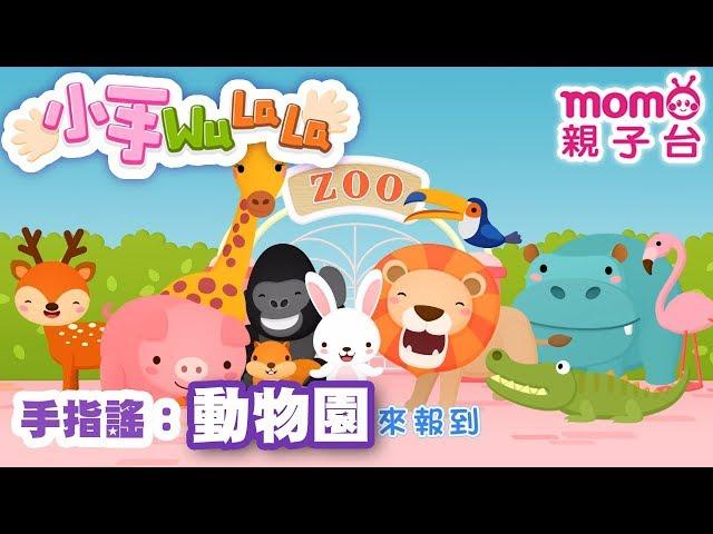 momo親子台 |【動物園】小手WuLaLa S2 EP 20 官方HD完整版】第二季 第20集~甜甜姐姐帶著大家一起玩手指搖