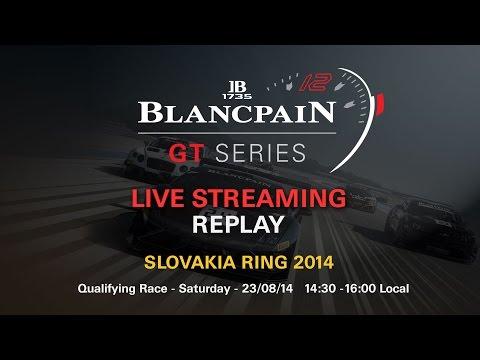 Blancpain Sprint Series - Qualifying Race - Slovakia - 2014