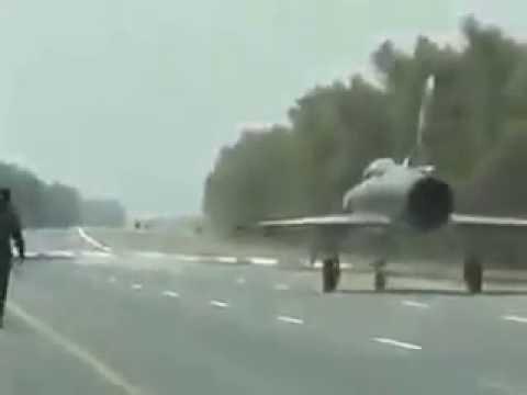 Pakistan Air Force Exercise on Motorway