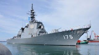 【故郷からの旅立ち】イージス艦「みょうこう」直江津港出航 Japan's Navy DDG-175 Myoko JMSDF