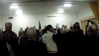 Hino Nacional Brasileiro - Banda de Música do Exército Brasileiro Em Uruguaiana, RS-Brasil...