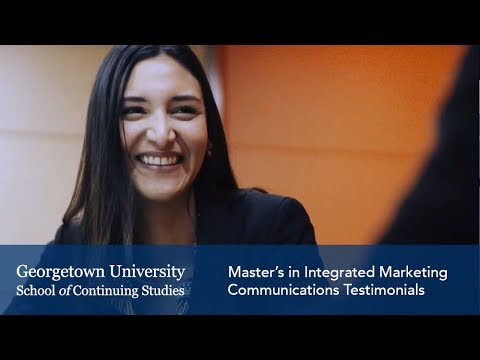 Master's In Integrated Marketing Communications Testimonials