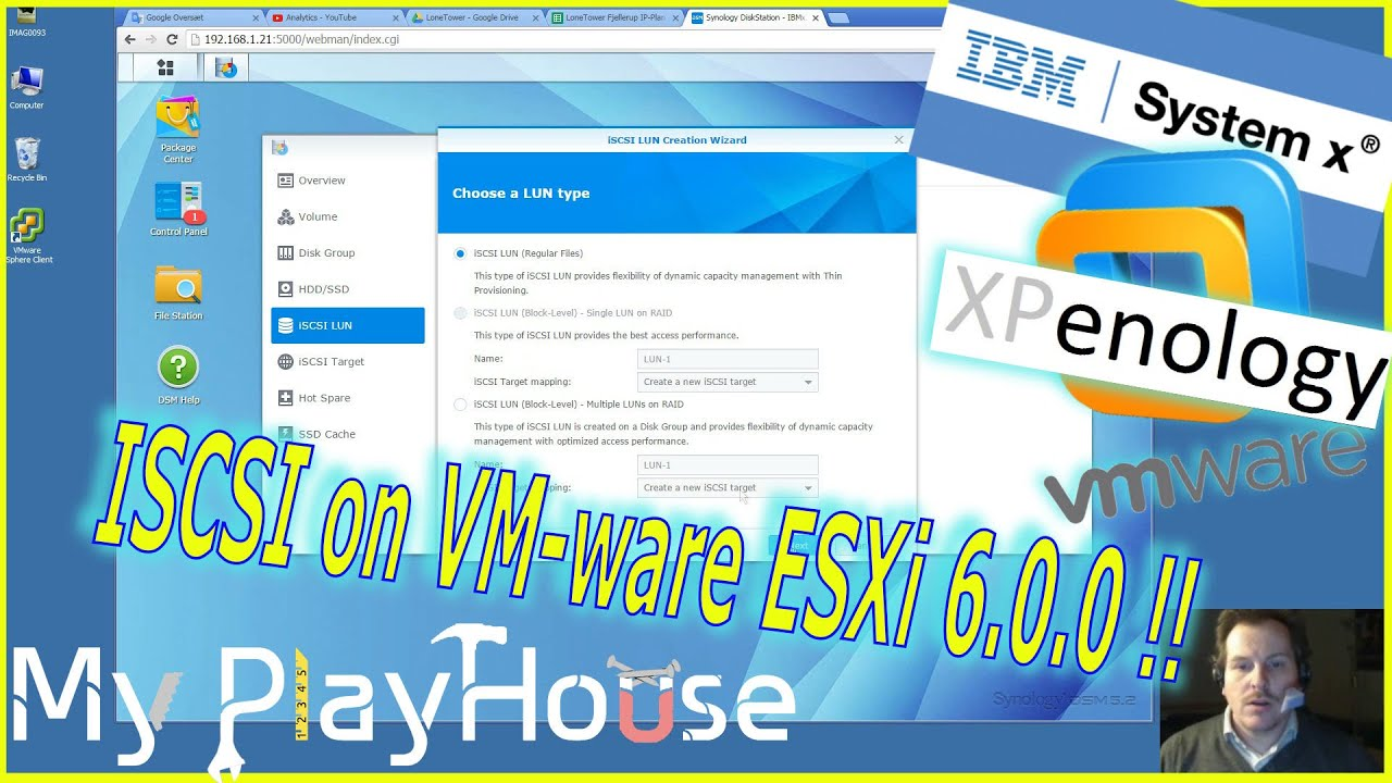 How to setup iSCSI from a Synology to VMware vSphere ESXi - 319