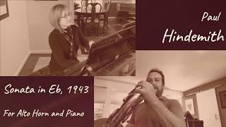 P. Hindemith, Sonata for Eb Alto Horn and Piano, 1943