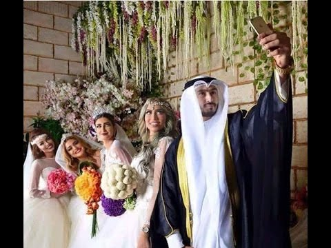 Arab Kuwaiti Guy Marries Four Women On The Same Day, Reality Or Hoax ?