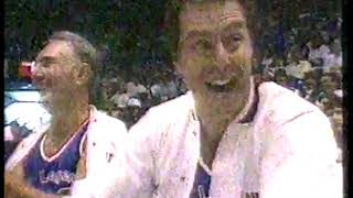 NBA - 1987 - All Star Saturday Night - Legends Game - 1st Half - With Red Auerbach + Bill Russell